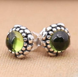 Jewelry - 925 Sterling Silver Birthstone Fashion Earrings Compatible With Pandora Jewelry