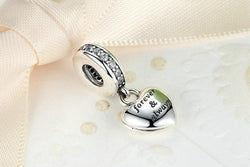 "Jewelry - 925 Sterling Silver ""My Beautiful Wife Forever & Always"" Beads Charm"
