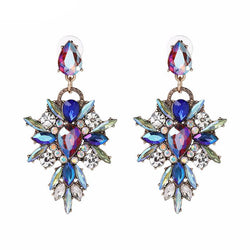 Jewelry - Crystal Multicolor Bohemia Big Earrings