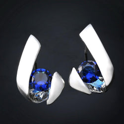 Jewelry - Inlay Zircon Earring