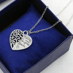 Jewelry - Mother And Daughter Eternal Love Pendant - Sweater Chain Necklace