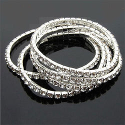 Jewelry - Rhinestone Stretch Bracelet Set