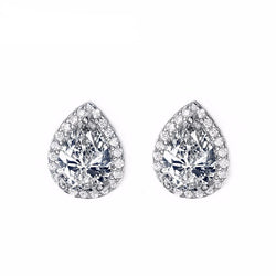 Jewelry - Water Drop Cubic Zircon Stud Earring