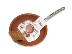 "Kitchen - 10"" Copper Frying Pan W/Non Stick Ceramic Coating"