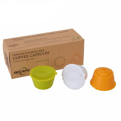 Kitchen - 3pcs/pack Refillable Dolce Gusto Coffee Capsule