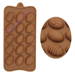 Kitchen - Easter Egg Silicone Bakeware DIY Cake Decorating Jelly Chocolate Candy Mold