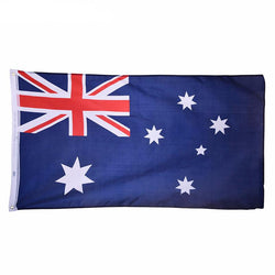 Man Cave - 90*150cm Australia National Hanging Flag  For World Cup / Activity / Parade / Festival Celebration