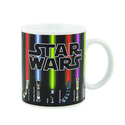 Man Cave - Star Wars Lightsaber Heat Reveal Mug Color Change Ceramic Coffee Mug