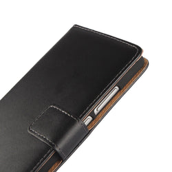 "Mobile Devices - 5.2"" Cover Case Premium PU Leather Wallet Flip Case With Card Slots And Cash Holder"