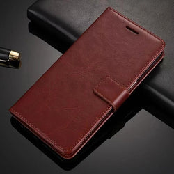Mobile Devices - Vintage Wallet PU Leather Flip Cover Case For IPhones