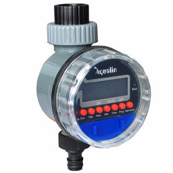 Outdoor - Aqua-Smart Electronic LCD Display Home  Ball Valve  Water Timer Garden Irrigation Controller System