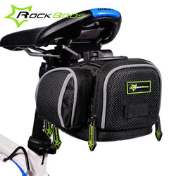 Outdoor - Bicycle Saddle Bag - Multi Color