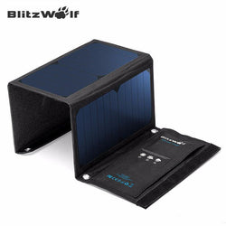 Outdoor - BlitzWolf - 20W Solar Power Bank Portable Charger - External Battery Universal Powerbank For IPhone