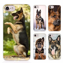 Pets - German Shepherd Clear Cell Phone Case Cover For Apple IPhone 4 4s 5 5s SE 5c 6 6s 7 Plus