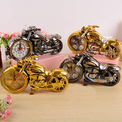 Vintage Motorcycle Retro Alarm Clock