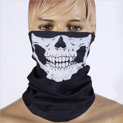 Sport Hand Towel Also It is Riding Running Neckerchief & Skull Scary Mask Sun Protection Flexible Magic Face Towels