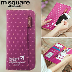 Purses/Wallets - Square Passport Travel Cover Wallet