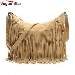 Purses/Wallets - Women Messenger Handbags  W/Fringe Tassels