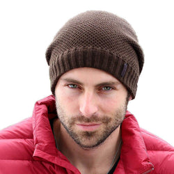 Scarfs/Wraps - Autumn Winter Hats Knitted Skullies Beanie Hat Solid Gorros Hip Hop Beanies For Men Hats Snow Caps