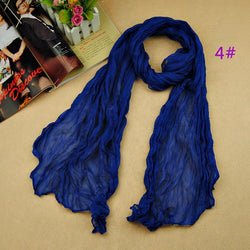 Scarfs/Wraps - Women's Fashion Soft Cotton Scarves / Shawls