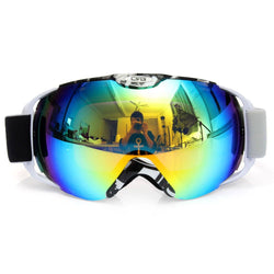 Sunglasses - Unisex Adults Professional Spherical Anti-fog Dual Lens Snowboard Ski Goggle Eyewear