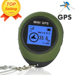 Trackers - Mini Handheld GPS Portable Tracking Device Keychain Path Finding Locator