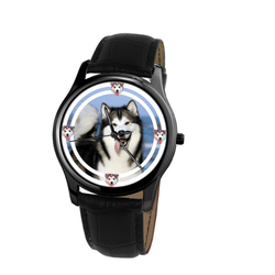 Watch - Alaskan Malamute Unisex Wrist Watch- Free Shipping