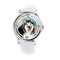 Watch - Alaskan Malamute Women Wrist Watch- Free Shipping