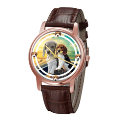 Watch - Beagle Classic Fashion Wrist Watch- Free Shipping