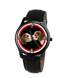 Watch - Beagle Unisex Wrist Watch- Free Shipping