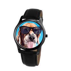 Watch - Beagle Unisex Wrist Watch - Free Shipping
