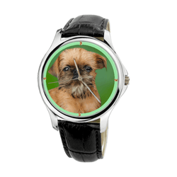 Watch - Brussels Griffon Unisex Fashion Wrist Watch - Free Shipping