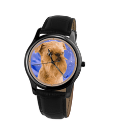Watch - Brussels Griffon Unisex Wrist Watch - Free Shipping