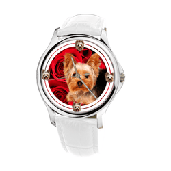 Watch - Yorkshire Terrier Women Wrist Watch- Free Shipping