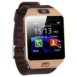 Watches (m) - Bluetooth Smart Watch DZ09 Smartwatch GSM SIM Card With Camera For Android IOS Phones