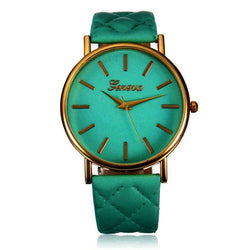 Watches (w) - 7 Colors - Women Casual Geneva Roman Leather Band Analog Quartz Wrist Watch