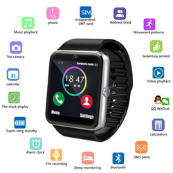 Watches (w) - GT08 Bluetooth Smartwatch Smart Watch With SIM Card Slot And 2.0MP Camera For IPhone / Samsung And Android Phones