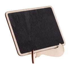Wedding - Mini Wood Chalkboard Wooden Place Card Holder For Wedding Event Party Valentine Day