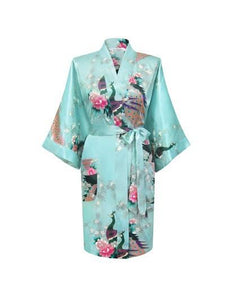 Women Compliments - Woman Satin Kimono Bathrobe - Assorted Designs (4XL)