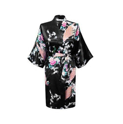 Women Compliments - Woman Satin Kimono Bathrobe - Assorted Designs (L)