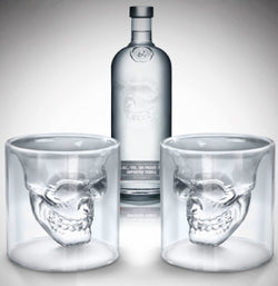 Skull Liquor Glass