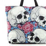Skull and Roses Shoulder Bag