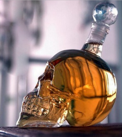 Skull Decanter Bottle