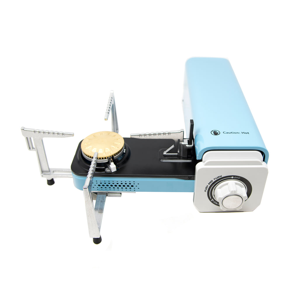 8,000 BTU Foldable Butane Camp Stove