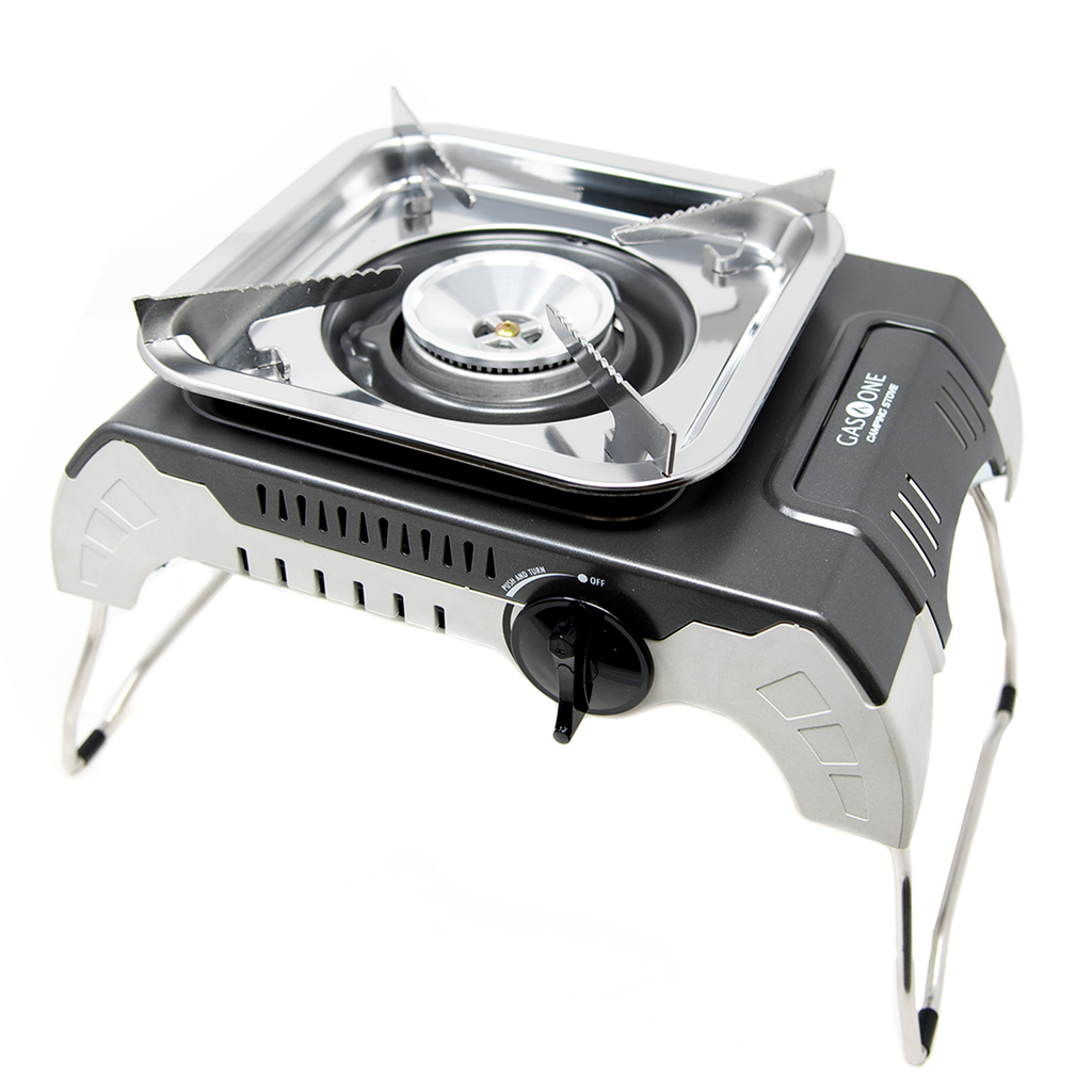7,900 BTU Portable Isobutane Camp Stove