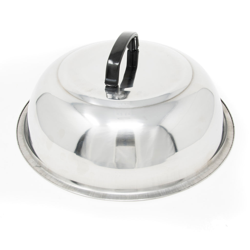 "12"" Stainless Steel Basting Cover (#41000)"