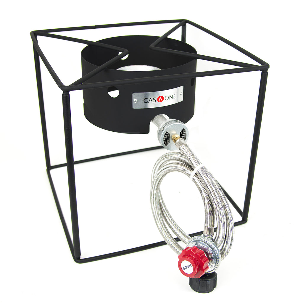 65,000 BTU High Pressure Propane Burner w/Collapsible Frame