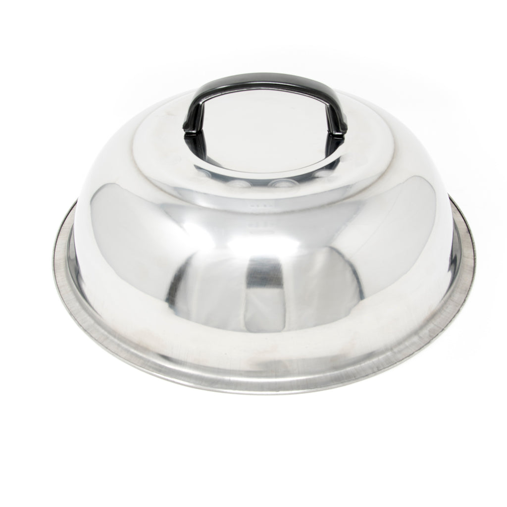 "12"" Stainless Steel Basting Cover"