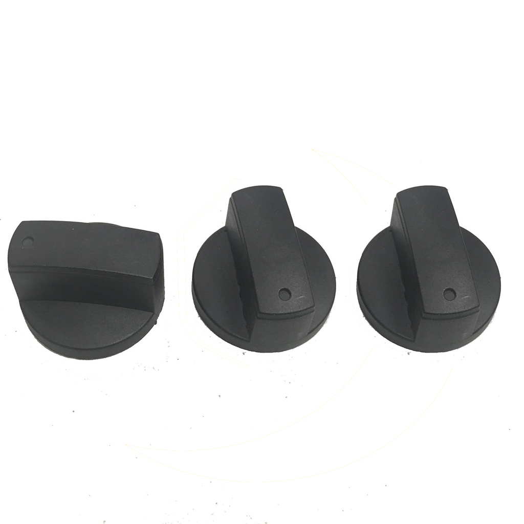 B-6000 Heat Control Knob Pair Replacement Part