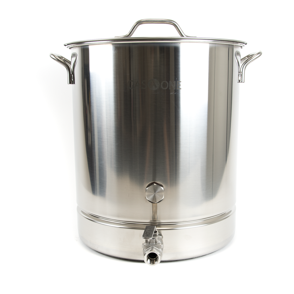 Stainless Brew Kettle 4 PC Set 64 QT / 16 Gal